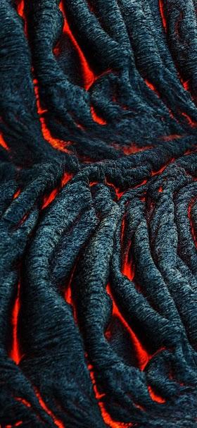 Hot lava  wallpaper
