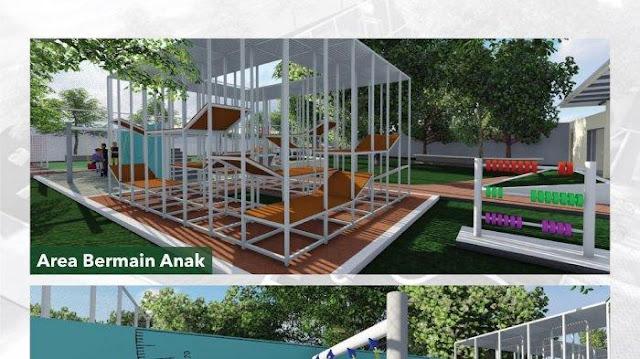 Cantiknya Taman Maju Bersama Dipamerkan Anies, Netizen: Hebat Jakarta Dipimpin Presiden