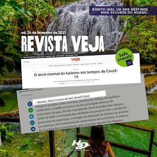 O novo normal do turismo em tempos de Covid-19 - Revista Veja