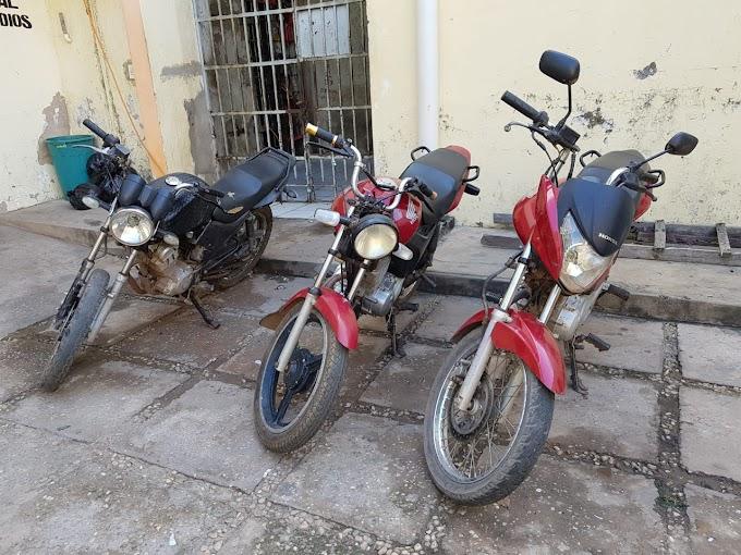NA MIRA - Polícia recupera 3 motocicletas roubadas em Caxias e THE