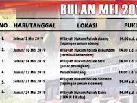 Jadwal SIM Keliling Karangasem Mei 2019