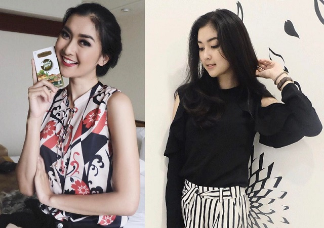 Foto Hot Bunga Jelitha Ibrani, Kevin Liliana, Karina Nadila Niab Juara Putri Indonesia 2017