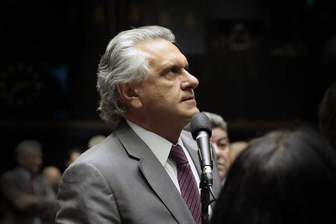 """""""Ninguém mais assaltou o Estado e se beneficiou de cargo público que o Lula"""", diz Caiado sobre revelações da delação de Marcelo Odebrecht"""
