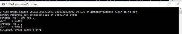 Flash via Fastboot