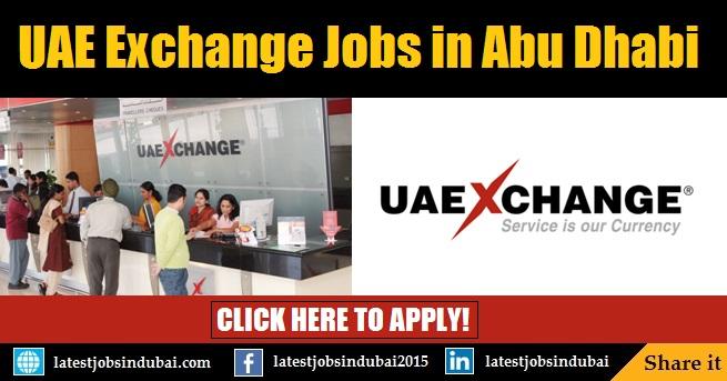 UAE Exchange Careers and Job Vacancies in Abu Dhabi