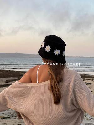 crochet bucket hat pattern free - crochet daisy granny square bucket hat pattern