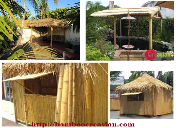 Diy Build Your Own Tiki Hut And Bar Kit Asian Thatch Round 01hut 02hut 03gazebo3round