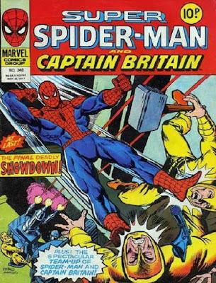 Super Spider-Man and Captain Britain #248