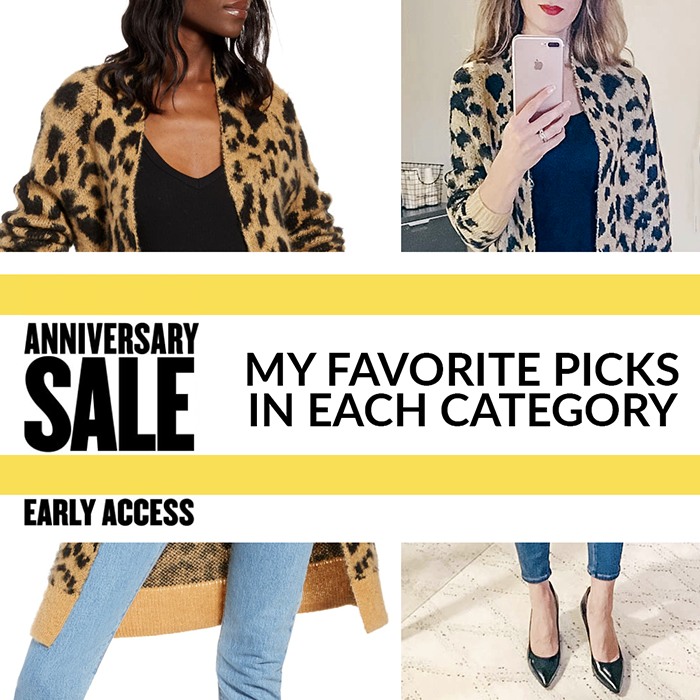 nsale, nordstrom anniversary sale 2019, leopard cardigan