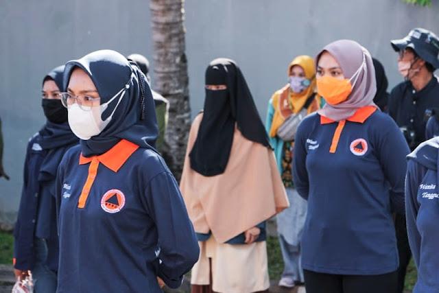 Siapkan perempuan tangguh bencana, BPBD NTB gelar simulasi bencana