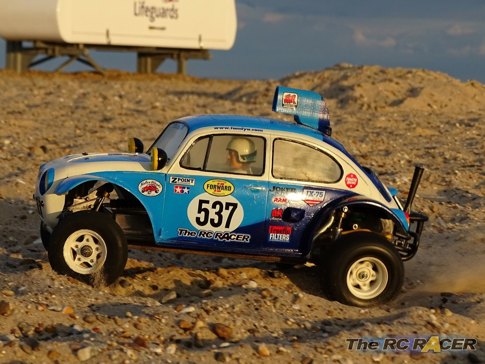 Tamiya SRB Sand Scorcher VW Baja Bug review | The RC