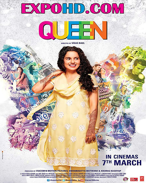 Queen 2014 Full Movie Download 720p | 1080p | HDRip x265