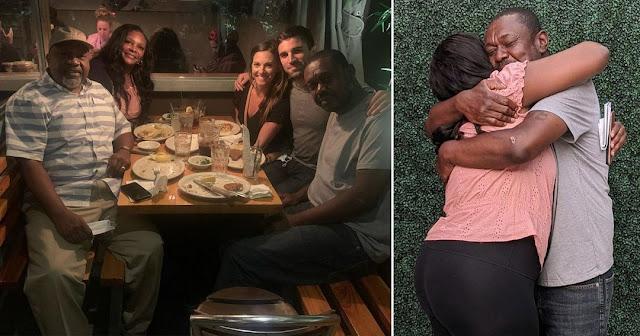 Пара помогла бездомному мужчине найти семью спустя 20 лет скитаний