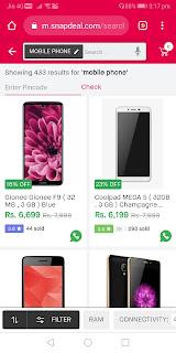 Best online shopping for mobile