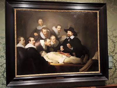rembrand's anatomy lesson