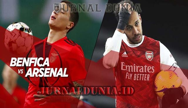 Prediksi Benfica Vs Arsenal