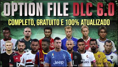 PES 2020 PS4 Option File DLC 6.0 by PESVicioBR