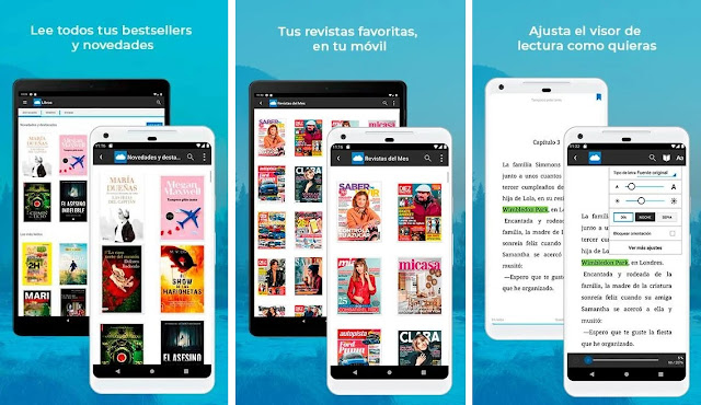 Mejores apps de lectura para Android
