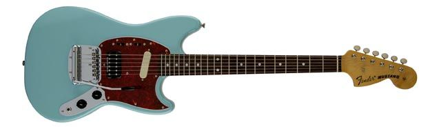 Fender Mustang Guitarra de Kurt Cobain