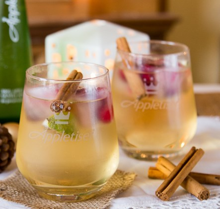 GIN & APPLETISER – A REFRESHING CHRISTMAS COCKTAIL #drinks #glutenfree