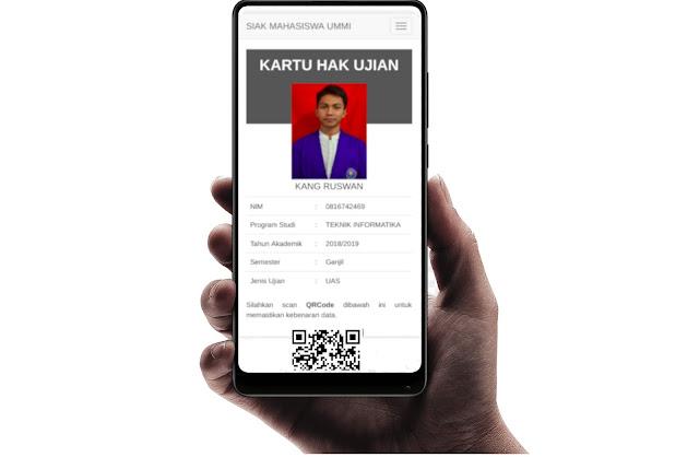 Universitas Muhammadiyah Sukabumi (UMMI) Terapkan kartu Ujian Online