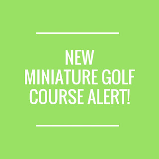A new Miniature Golf course is opening at Pembrey County Park in Carmarthenshire, Wales