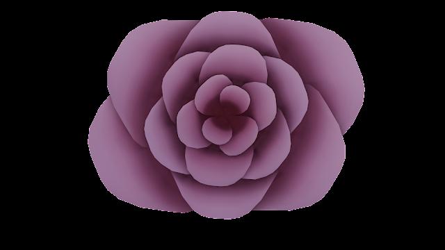 Rose 3d model free download