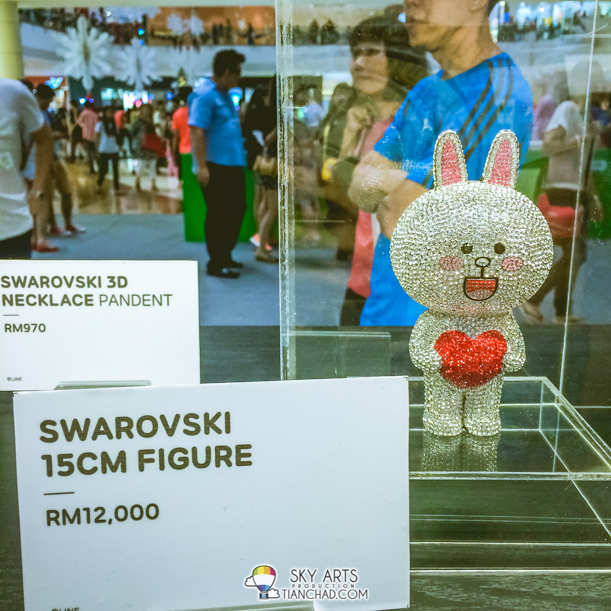 Cony Swarovski Figure at RM12,000 selling at LINE Friends Pop-Up Store
