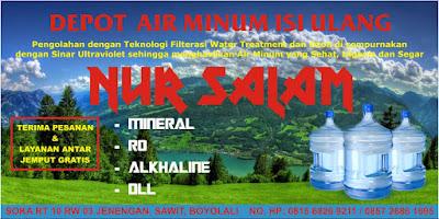 Download Desain Spanduk Depot Air Minumcdr Menulis