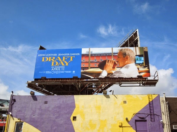 Draft Day film billboard