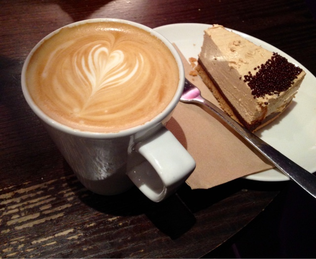 Coffee and Cheesecake
