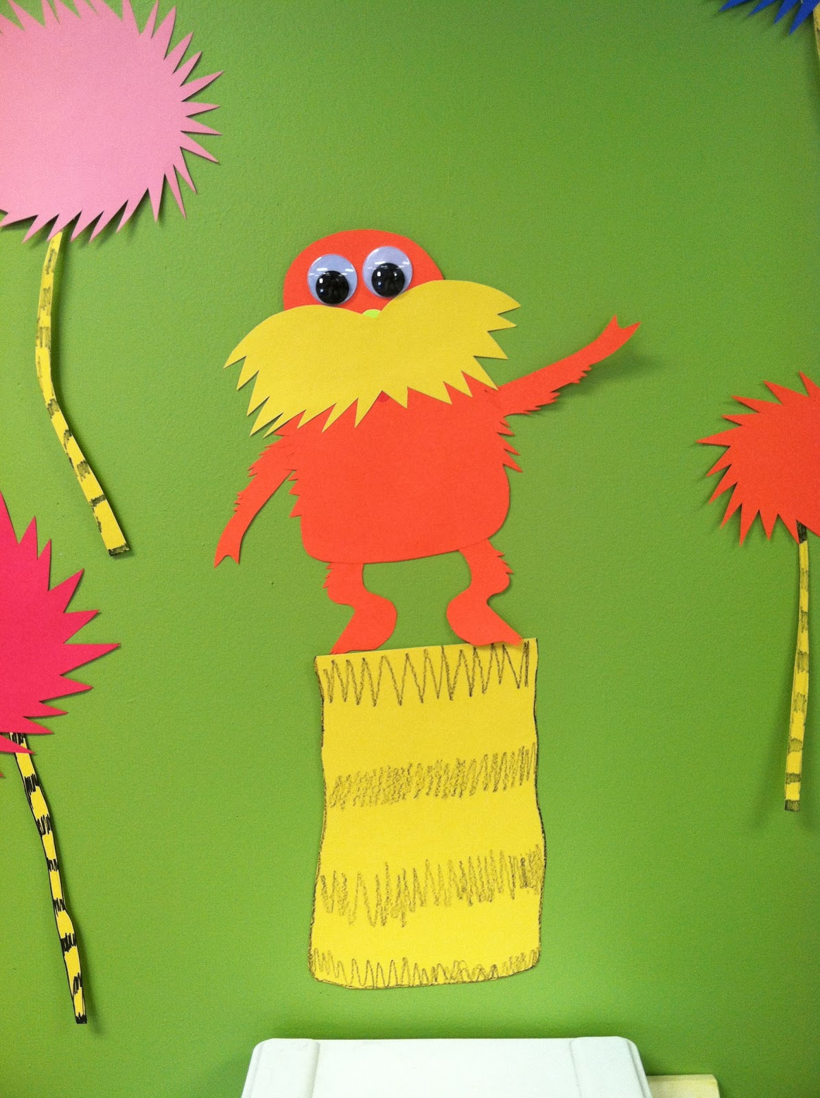 Life In First Grade Lorax Craft Patterns