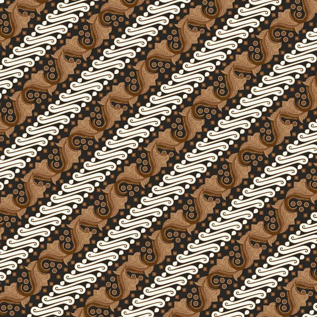 Vector Batik Parang Klitik Jogja Solo