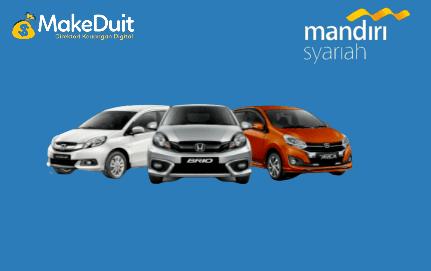Kredit Mobil Syariah Mandiri; Syarat dan Simulasi
