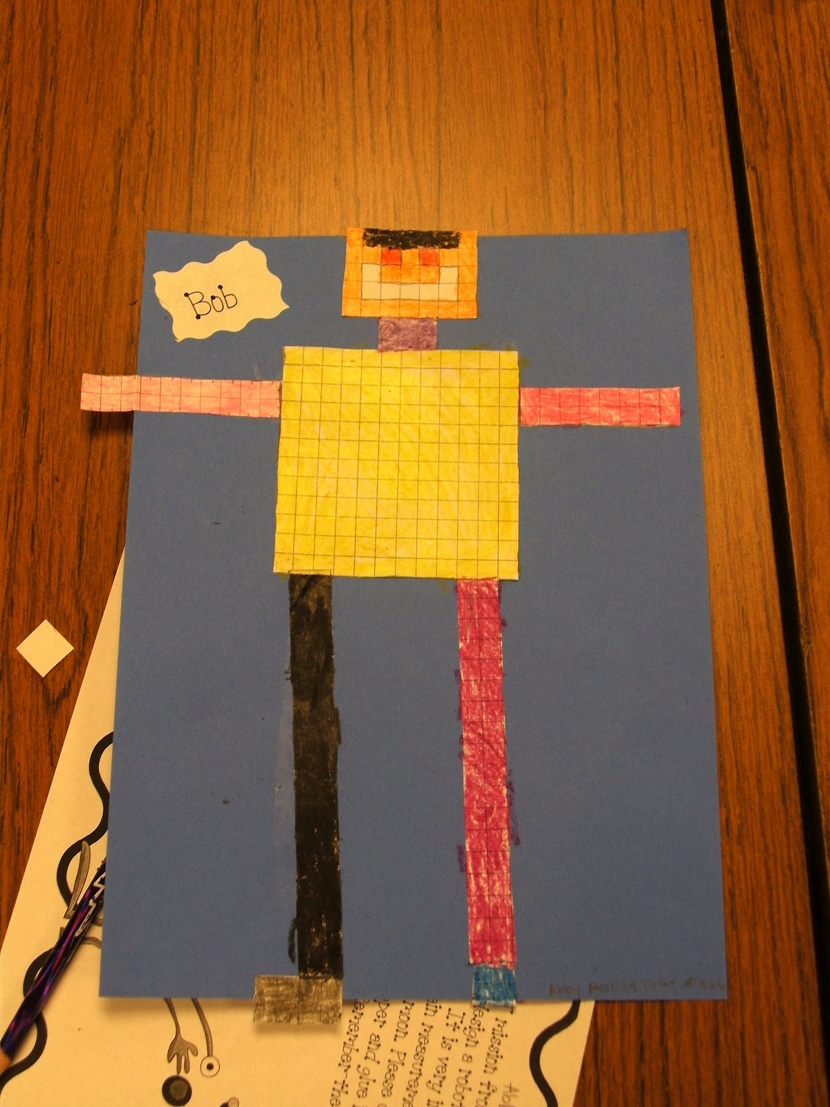 Teaching With Blonde Ambition Perimeter And Area Robots