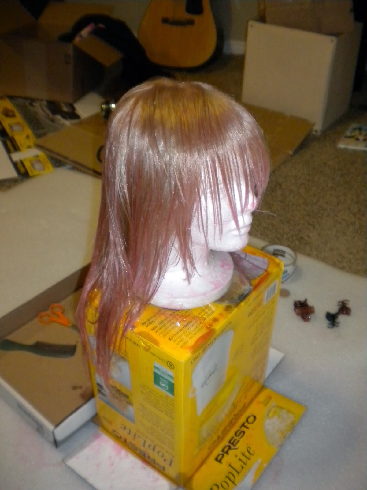 lightning cosplay wig final fantasy xiii