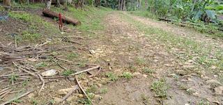 Pembangunan Cor Jalan Desa Blok Ciruab Tahun Anggaran 2020