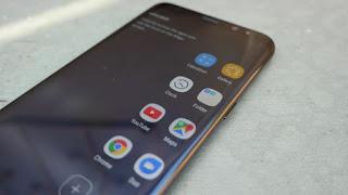 edge panel Galaxy S8