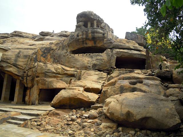 Udayagiri caves, Bhubaneshwar