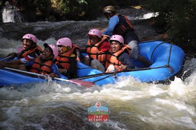 Paket Rafting Seru di Pangalengan Bandung Selatan Bersama Outbound Lembang Bandung