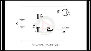 Rangkaian Transistor Dengan Arus Basis Yang Dapat Di Atur