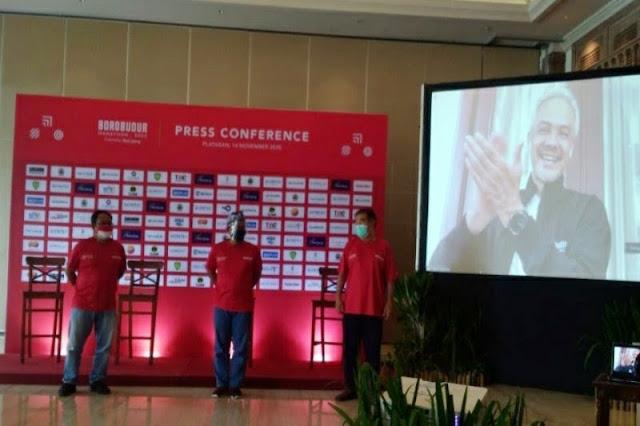 Kabar Nasional, Ubah Laku, Borobudur Marathon 2020, Gubernur Jawa Tengah Ganjar Pranowo, Ganjar Pranowo, Pemkab Magelang, Magelang