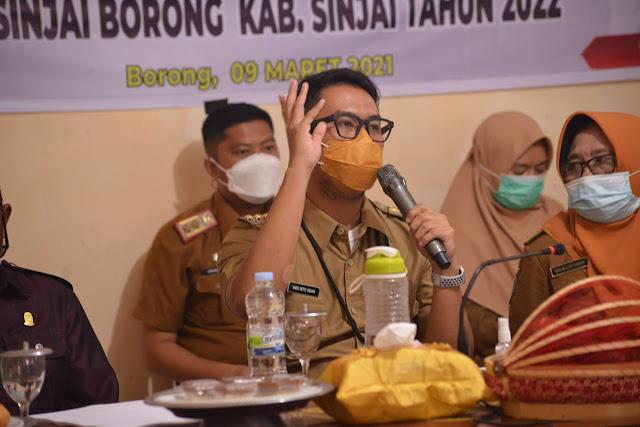 Catat, Ini Sejumlah Program Prioritas Pembangunan di Sinjai Borong