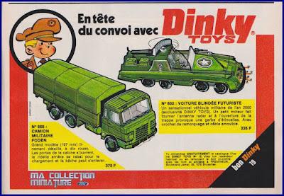 Dinky Toys, en tête du convoi