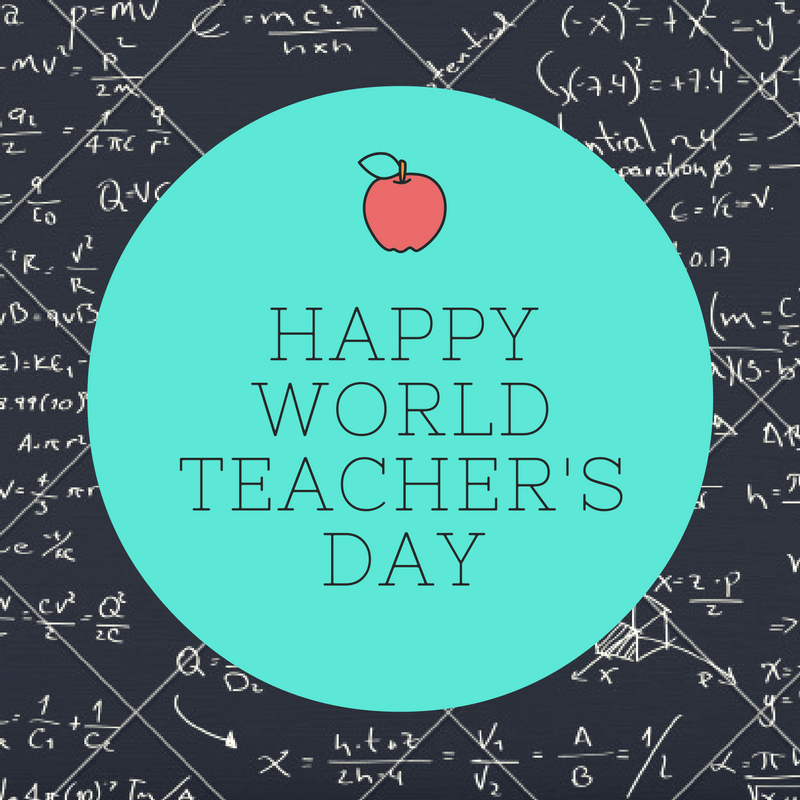 World Teachers' Day Wishes For Facebook
