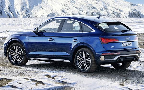 Audi Q5, A6 e A7 híbridos plug-in ganham maior autonomia elétrica