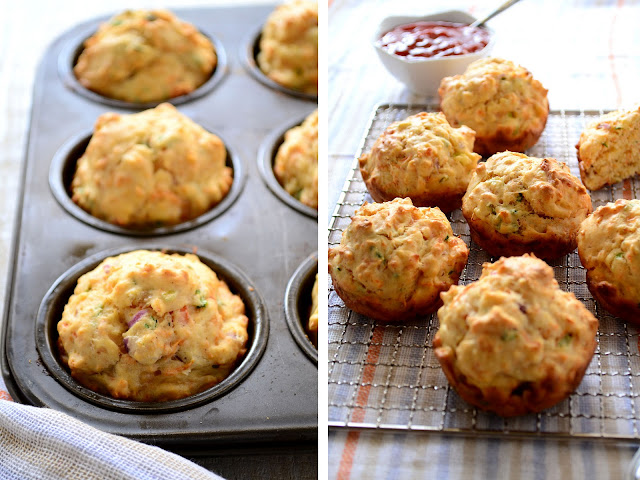 Spiced Red Carrot Muffins-A veggie touch for breakfast | LOVE & other ...