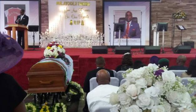 deji tinubu burial photos