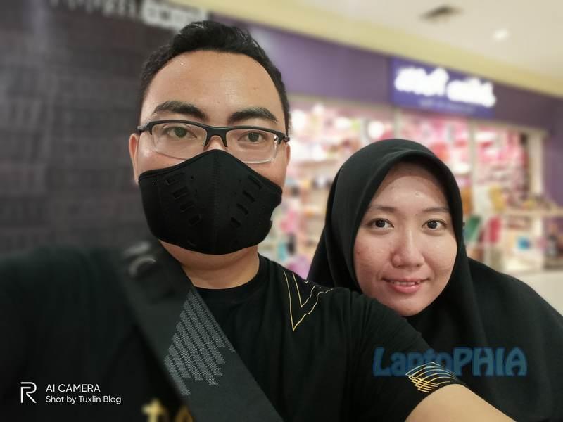 Hasil Foto Kamera Depan Realme C15