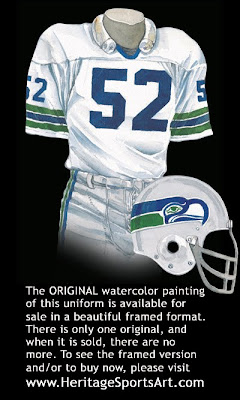 Seattle Seahawks 1978 uniform
